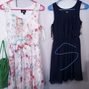 Two size small ladies dresses.